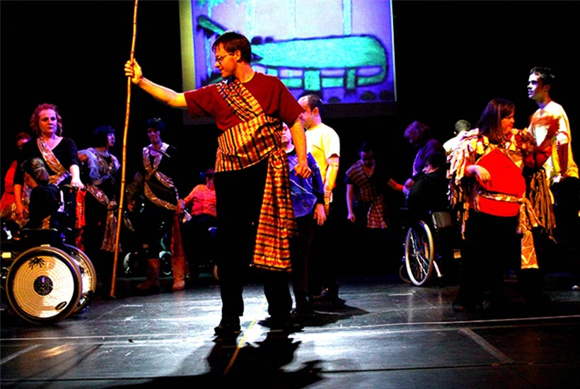 Africa on stage production