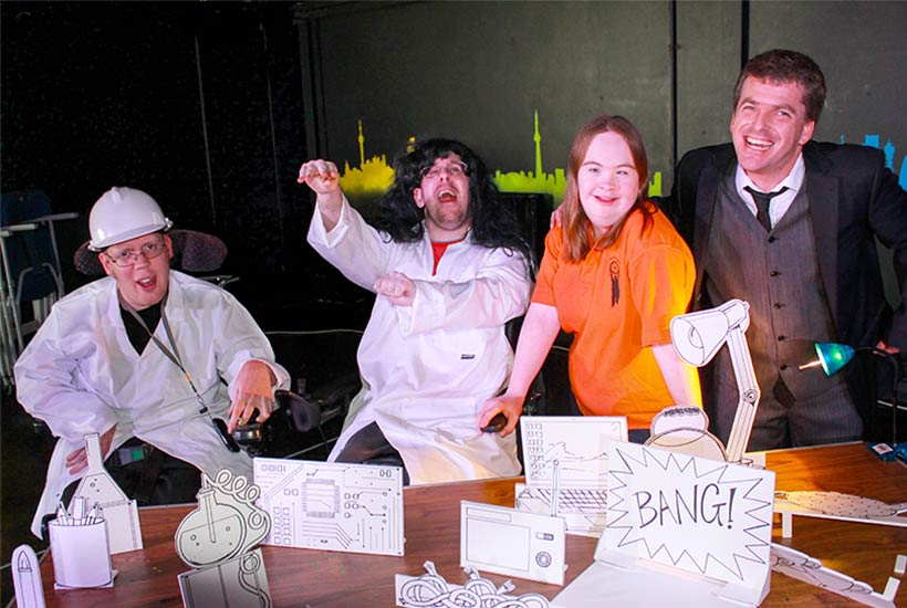 Big Laboratory Bang Production
