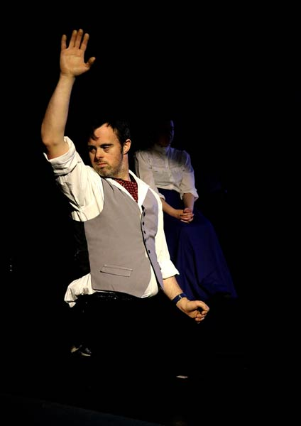 degas dancing on stage