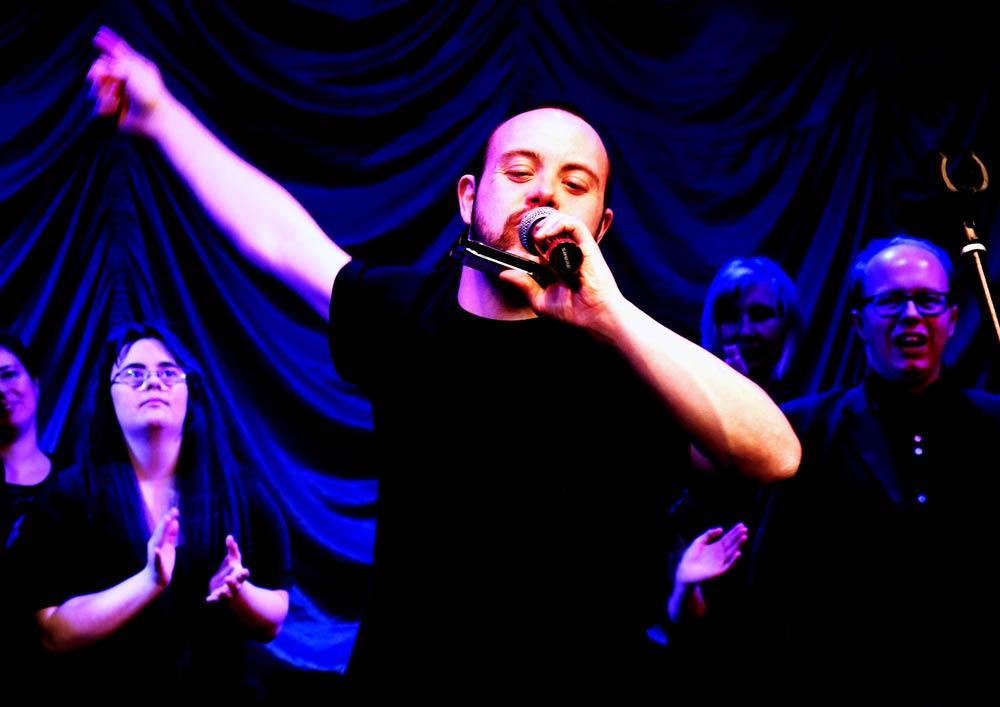 David member of Freewheelers Theatre